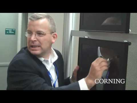 Corning At SID: Corning® Gorilla® Glass Scratch Test