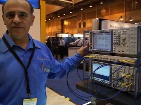 CTIA 2012: Rohde & Schwarz TS8980 Verizon Test Case