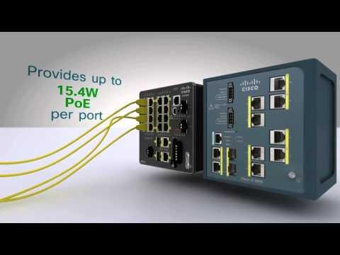Cisco Industrial Ethernet Switches For Industrial Networks