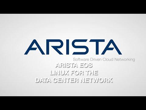 Arista EOS Linux For The Data Center Network
