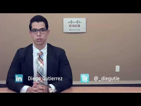 Diego Gutierrez: Cisco Virtual Sales Account Manager