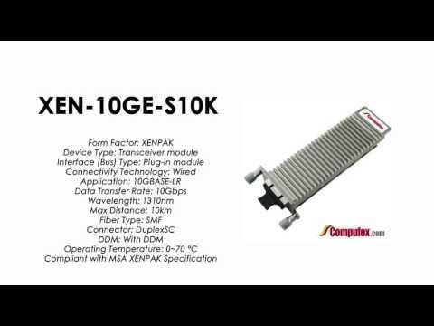 XEN-10GE-S10K  |  ZTE Compatible 10GBase-LR XENPAK SMF 10km 1310nm