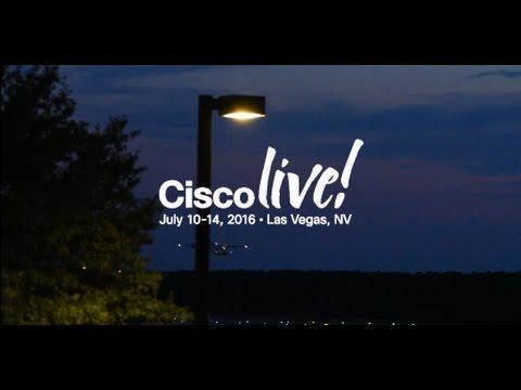 Cisco Live Las Vegas 2016 Pre-Event Video
