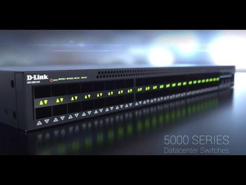 D-Link For Business, DXS-5000 Series Datacenter Switch