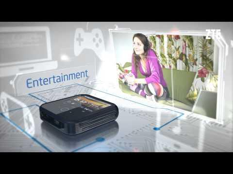 ZTE Projector Hotspot All-In-One Device