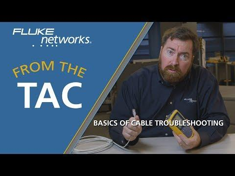 Basics Of Cable Troubleshooting By Fluke Networks