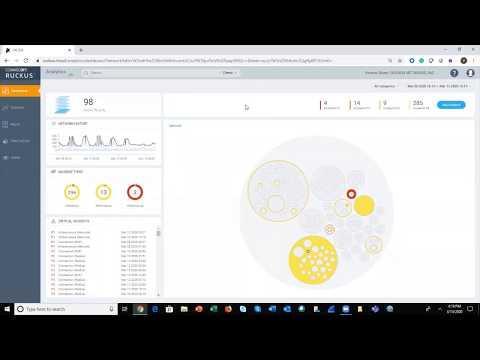 RUCKUS Analytics Incident Analytics Demo