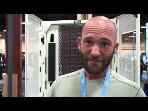 Tripp Lite Custom Server Racks - InterOp 2013 Booth Crawl