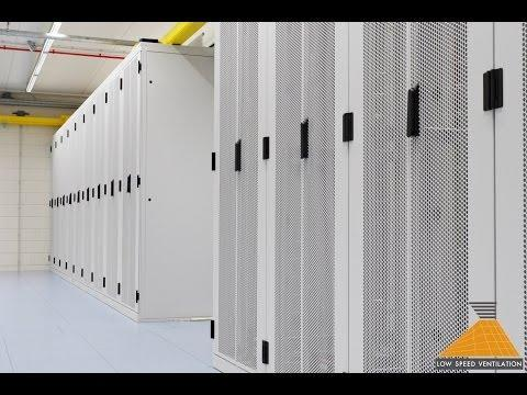 Green Data Center Design With Low Speed Ventilation®