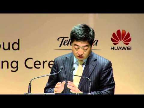 Telefonica & Huawei Telco Cloud MoU Ceremony