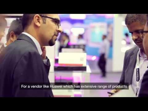 GITEX 2013, Dubai - Huawei Highlights Of Day 2