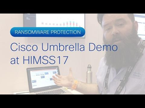 Cisco Umbrella Demo At HIMSS17