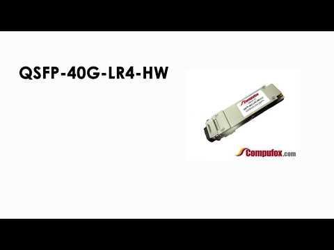 QSFP-40G-LR4-HW  |  Huawei Compatible QSFP+ 40GBASE-LR4 SMF 1310nm 10km