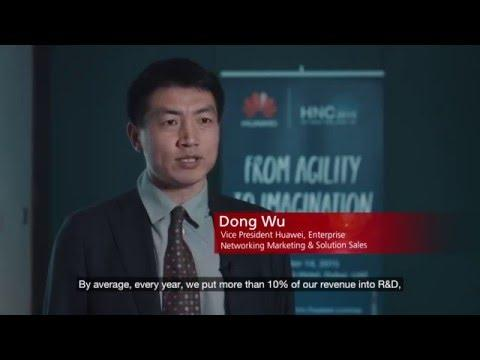 Interview: Dong Wu, Huawei At The Huawei Network Congress Middle East 2015