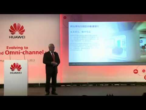 First Huawei Global FSI Summit Keynote Speech Chris Pickles, Large Project Director Of BT Global Fin