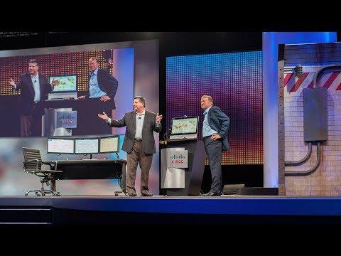 Cisco Live US 2014 Keynote Demo: Internet Of Everything Transportation