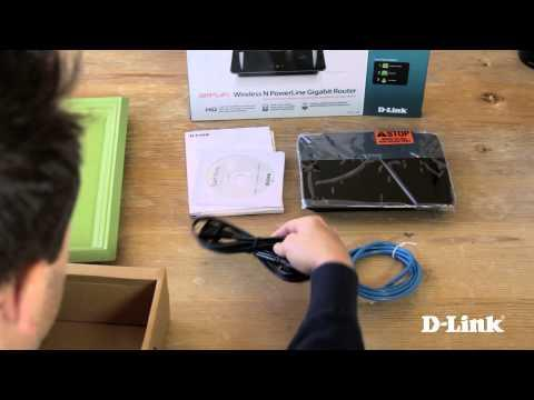 Getting Started: Wireless N PowerLine Gigabit Router (DHP-1565)