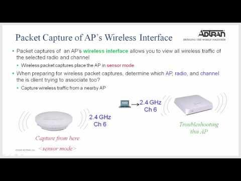 ADTRAN Bluesocket - VWLAN AP Packet Capture