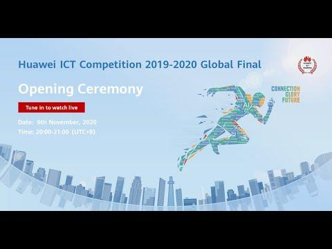 Opening Ceremony Of The Huawei ICT Competition