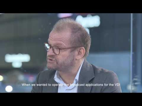 VDI Powers TF1's Converged Cloud News Center