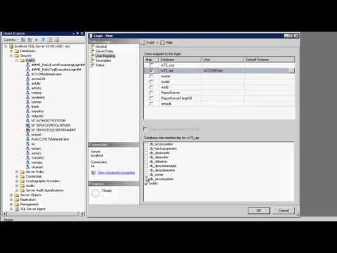 How To Create An Admin Database User In Avaya Interaction Center For ACCCM-IC Integration