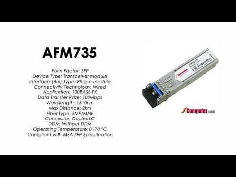 AFM735  |  Netgear Compatible 100Base-FX 1310nm 2km SFP