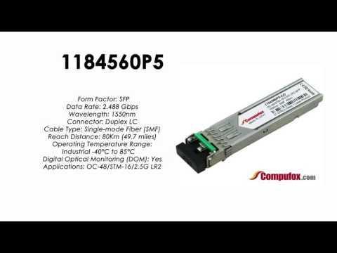 1184560P5  |  Adtran Compatible OC-48 1550nm 80km SFP