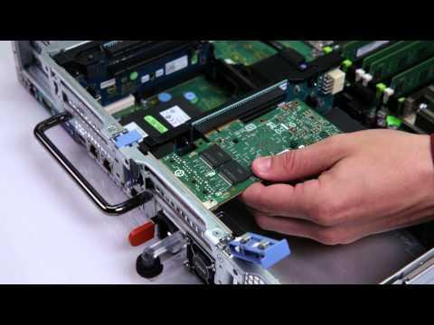 Dell Precision Rack 7910: Install PCI Riser & Card
