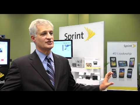 At 4G World, Sprint SVP Bob Azzi On Sprint's Move To LTE And Lightsquared Deal