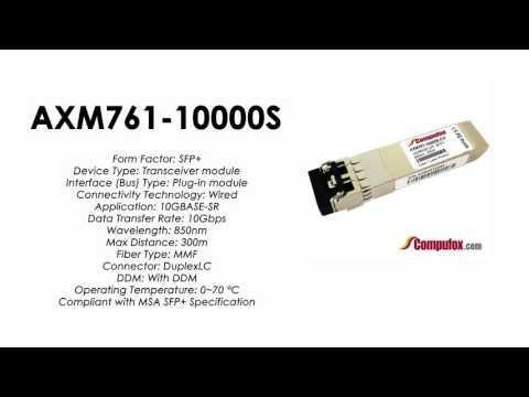 AXM761-10000S     Netgear Compatible 10GBASE-SR 850nm 300m SFP+