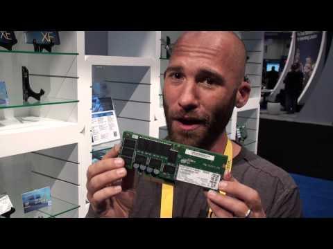 Intel SSD Hard Drives At Cisco Live 2013