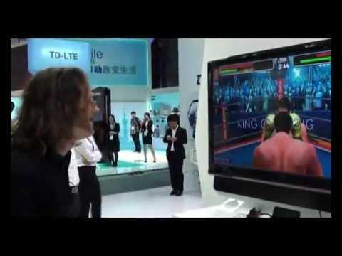 Somatic Gaming With The ZTE Grand X At Mobile Asia Expo 2012