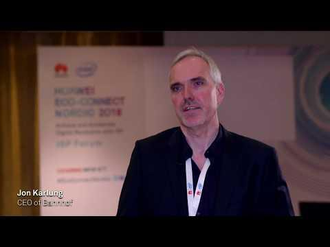 Huawei Eco-Connect Nordics 2018 - Stockholm: Interview With Jon Karlung