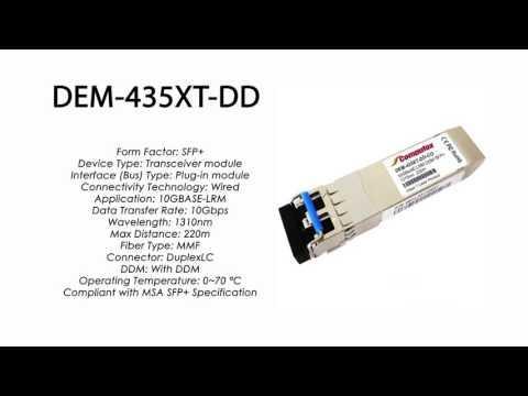 DEM-435XT-DD  |  D-Link Compatible 10GBase-LRM SFP+ 1310nm 220m DDM