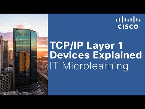 TCP/IP Layer 1 Devices Explained
