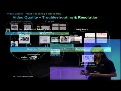 Cisco And ActionPacked End To End Medianet For Secure Scalable Video Architectures At ASIS 2013