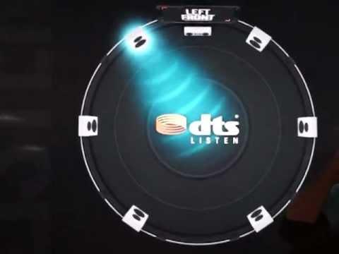 2013 CES: Amazing Qualcomm Snapdragon 800 Theatre Demo Featuring 7.1 DTS