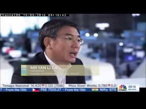 CNBC Inteviewed Yan Lida During Huawei CONNECT 2016