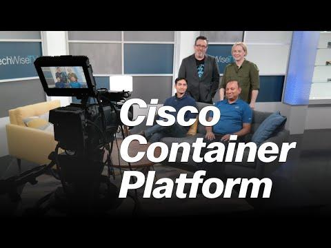 Cisco Container Platform On TechWiseTV