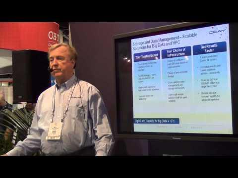 Cray Scalable Storage Solutions And InfiniBand