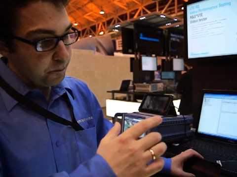 CTIA 2012: Mobile Device Video Over LTE Measurement And Test