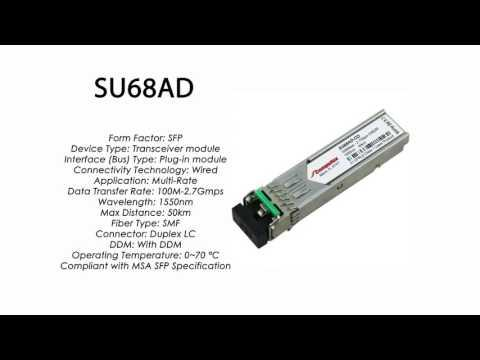SU68AD  |  Marconi Compatible SFP 100Mbps/2.7Gbps 1550nm 50km DDM