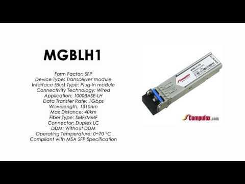 MGBLH1     Linksys/Cisco Compatible 1000Base-LH 1310nm 40km SFP
