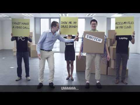 Meet IT Manager And Mr Switch  (subtitled)