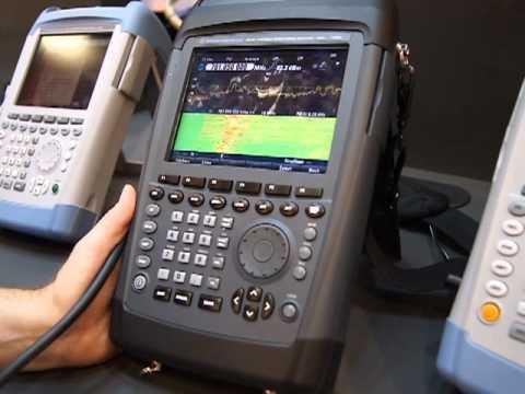 CTIA 2012: Rohde & Schwarz Hand Held Base Station Portfolio Of Instruments