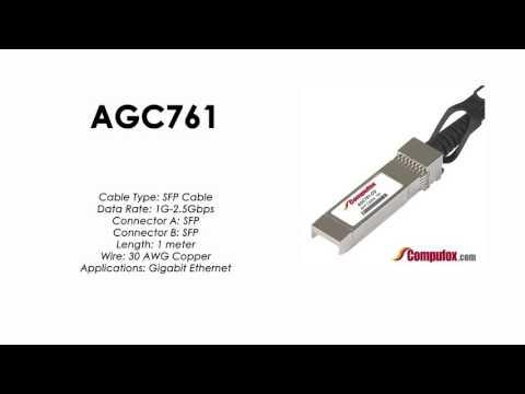 AGC761  |  Netgear Compatible 1m 1G/2.5G Direct Attach SFP Cable
