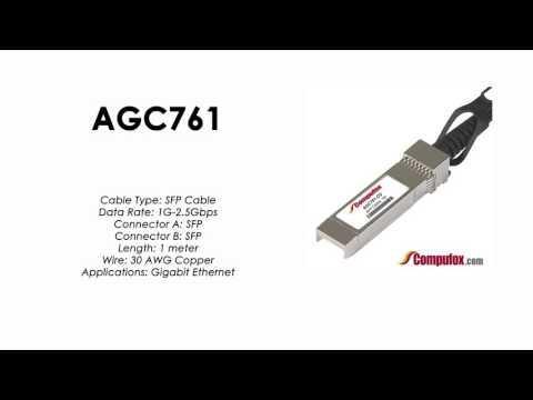 AGC761  |  Netgear Compatible 1m 1G/2.5G Direct Attach SFP Cable