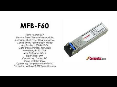 MFB-F60  |  Planet Compatible 100Base-FX 1310nm 60KM SFP
