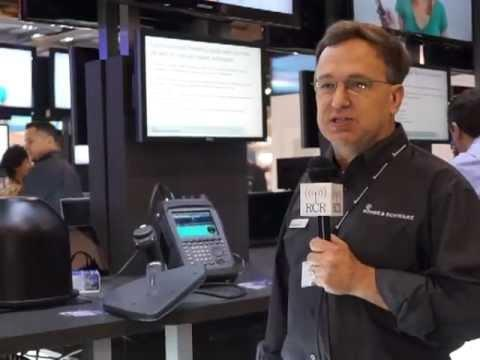 #CTIA13: Rohde & Schwarz Demo Portable Receivers