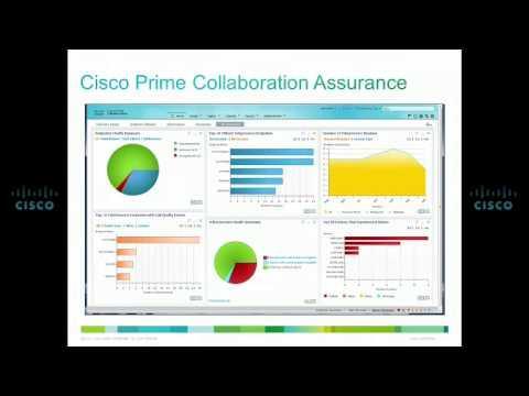 Cisco Prime Collaboration 10.0 Video Data Sheet
